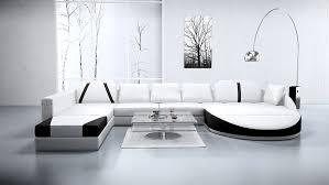 canapé luxe design canapé angle en cuir vachette blanc