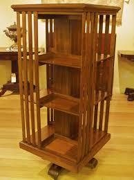 Bookcase Black Wood Tasmanian Blackwood Revolving Bookcase The Merchant Of Welby