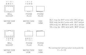 line wiring for polarity sensitive telephones