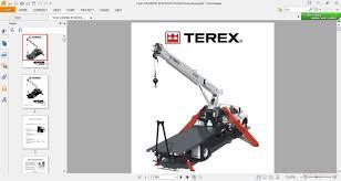 terex cranes bt3870 boom trucks parts manual auto repair manual