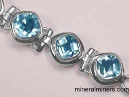 silver topaz bracelet images Blue topaz jewelry sky blue topaz pendants rings bracelets and jpg