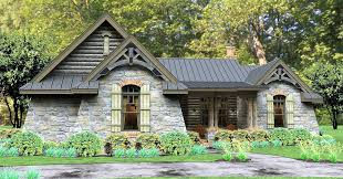 rugged rustic 3 bedroom home plan 16863wg architectural