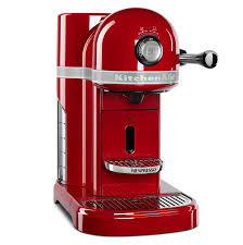 Kitechaid Amazon Com Kitchenaid Kes0503er Nespresso Empire Red Kitchen