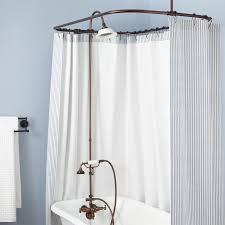 converting a clawfoot tub into a shower how to shower when you