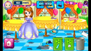 sofia room cleaning games barbie new room decoration youtube