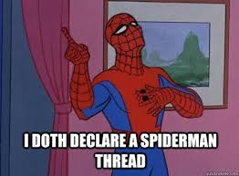1960s Spiderman Meme - the official 1960 s spider man meme topic spam jawa