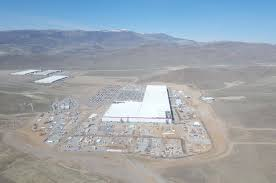 Tesla Supercharger Map Tesla Gigafactory 1 Is Beginning To Look Like A Small City Mar