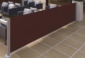 seitenmarkise balkon seitenmarkisen bis 4m ausziehbar und 2 5 meter höhe motorline shop