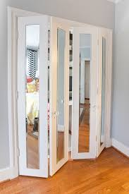How To Rehang Sliding Closet Doors Furniture Amazing Folding Closet Doors For Smart Furniture Ideas