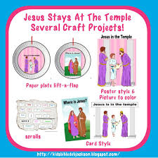 bible fun for kids jesus stays behind at the temple