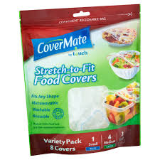 Covermates Patio Furniture Covers - covermate by touch stretch to fit food covers variety pack 8