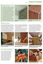 Finger Joints Woodworking Plans by Classic Finger Joint Box Plans U2022 Woodarchivist