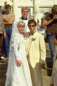 scarface cadillac michelle pfeiffer u0026 al pacino on the set of scarface 1983 cool