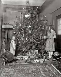 antique christmas trees christmas lights decoration