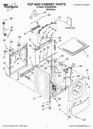 whirlpool wfw8300sw05 parts list and diagram ereplacementparts com