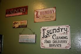Laundry Room Signs Wall Decor by Lessons Of A Newlywed New Laundry Room Art