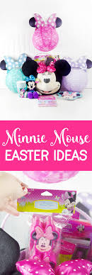 minnie mouse easter basket ideas minnie mouse easter ideas sprinkle some