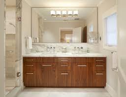 Framed Mirrors For Bathroom Vanities Frameless Bathroom Mirror Mirror Ideas Hang A