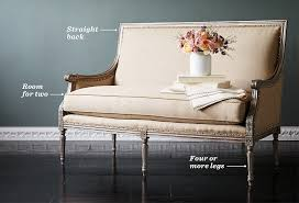 Large Armchair Loveseat The Essential Guide To The Settee One Kings Lane