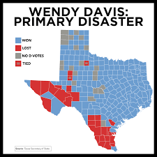 Primary Map Willisms Com Addressing Questions About Wendy Davis U0027 Disastrous