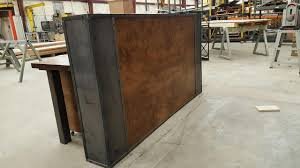 Industrial Reception Desk Hand Crafted No Longer Available Contact For Alternate Options