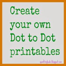 make your own dot to dot printable using gimp sparklingbuds