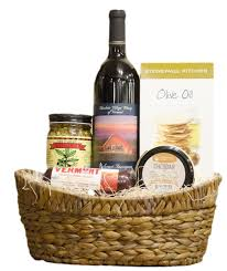 summer sausage gift basket wine gift basket
