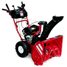 shop troy bilt storm 2620 208cc 26 in two stage electric start gas
