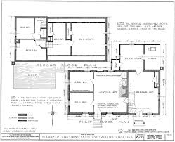 Smithsonian Floor Plan by Homestead Governor Richard Howell