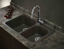 cheap kitchen sinks and faucets composite granite kitchen sink amazing modern design with