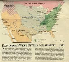 Map Of The Louisiana Purchase by Dixiemania Louisiana