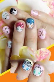 51 best otaku nail art images on pinterest otaku nail art and anime