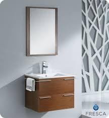 Wenge Bathroom Mirror Fresca Cielo Wenge 24 Modern Bathroom Vanity Wall Mounted Vanity