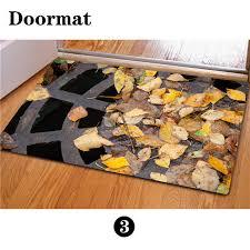 tapis cuisine original eco 3d printed doormats bathroom 40 60cm floor mat rubber