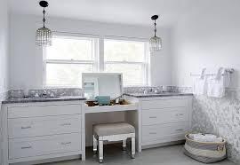 Mirrored Vanity Bench Built In Makeup Vanity With Flip Top Mirror And Mirrored Vanity