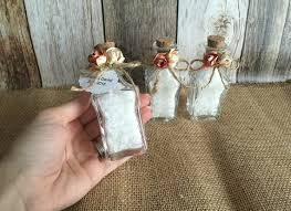 rustic wedding favors rustic wedding favors bath salt glass wedding favor bottles