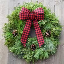 fresh christmas wreaths wreaths