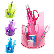 Office Desk Tidy 13pc Office Stationery Organiser Set Rotating Desk Tidy Pen Holder