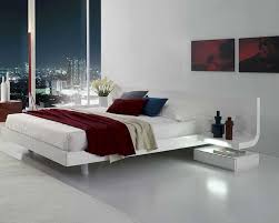 platform bed with led lights platform bed with built in nightstands images lacquer led lights bd