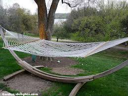 hammocks with stands hammock sets chairs swings garden delights com