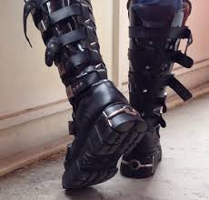 new motorcycle boots new rock boots 151 by fraschu on deviantart