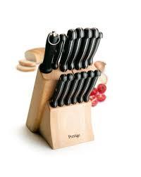 prestige kitchen knives prestige 14 knife block set amazon co uk kitchen home