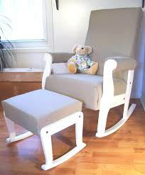 White Wooden Rocking Chair Nursery Rocking Chair Nursery Baby Nursery Room Decoration Using Light