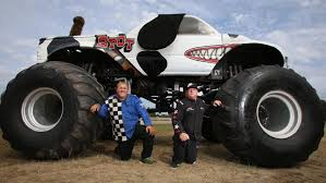 monster trucks riders wow audiences redcliffe paceway april