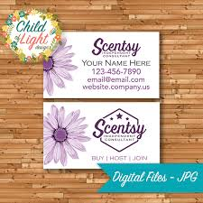 Personalized Business Cards Authorized Scentsy Vendor Business Cards Custom Business