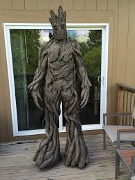 incredibly realistic groot costume that costs less than 100 to