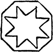 octagon design clipart etc octagon design