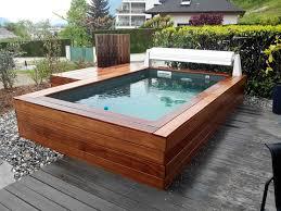 petite piscine enterree petite piscine bois on decoration d interieur moderne mini