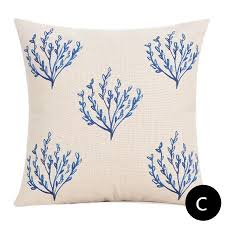 theme pillows blue colored decorative pillows for theme cushions