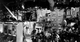 Arc Lights The Set From Rear Window Consisted Of 31 Apartments 8 Completely